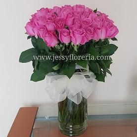 Florero rosas rositasflorerias en guadalajara con servicio a domicilio, zapopan, tlaquepaque, tonala, tlajomulco