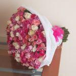 Ramo de 200 rosas rositas florerias en guadalajara con servicio a domicilio, zapopan, tlaquepaque, tonala, tlajomulco