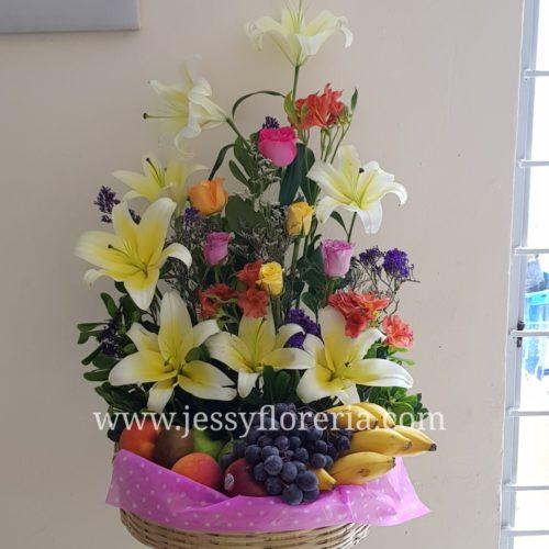Canastas frutales florerias en guadalajara con servicio a domicilio, zapopan, tlaquepaque, tonala, tlajomulco