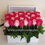 cofre con rosas rositas florerias en guadalajara con servicio a domicilio, zapopan, tlaquepaque, tonala, tlajomulco