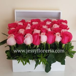 cofre con rosas florerias en guadalajara con servicio a domicilio, zapopan, tlaquepaque, tonala, tlajomulco