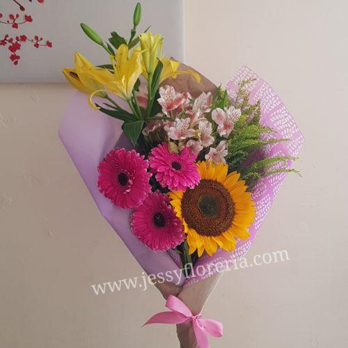 Ramo floral surtido florerias en guadalajara con servicio a domicilio, zapopan, tlaquepaque, tonala, tlajomulco