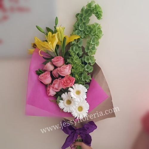Bouquet floral surtido florerias en guadalajara con servicio a domicilio, zapopan, tlaquepaque, tonala, tlajomulco