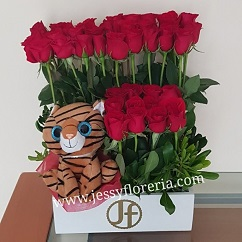 Jardín de rosas florerias en guadalajara con servicio a domicilio, zapopan, tlaquepaque, tonala, tlajomulco