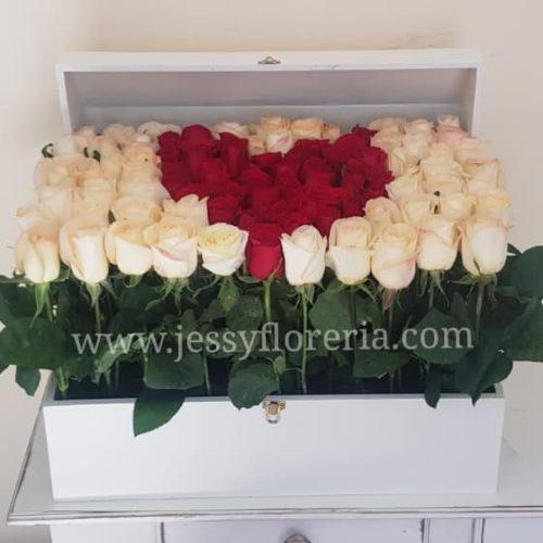Baúl de rosas florerias en guadalajara con servicio a domicilio, zapopan, tlaquepaque, tonala, tlajomulco
