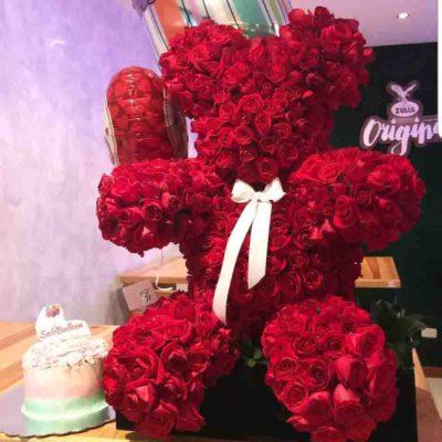 oso de rosas florerias en guadalajara con servicio a domicilio, zapopan, tlaquepaque, tonala, tlajomulco