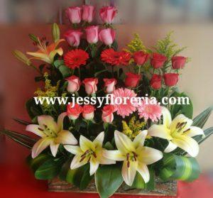 Jardinera de flores florerias en guadalajara con servicio a domicilio, zapopan, tlaquepaque, tonala, tlajomulco