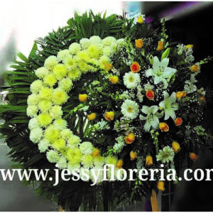 Corona floral fúnebre Coronas Fúnebres en Guadalajara florerias en guadalajara con servicio a domicilio, zapopan, tlaquepaque, tonala, tlajomulco