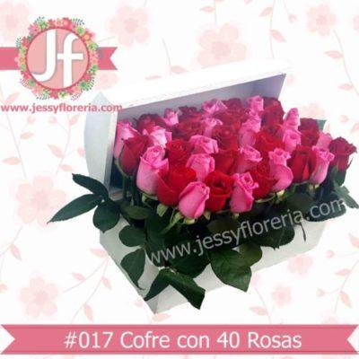 Cofre con rosas
