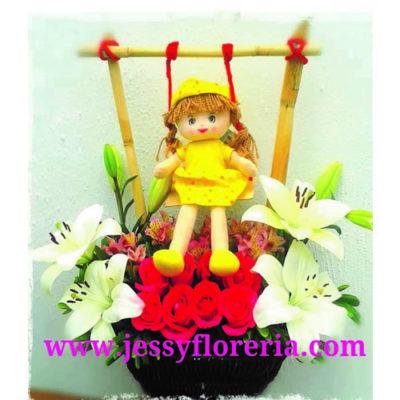 Columpio floral
