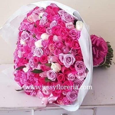 Maxiramo 250 rosas rositas