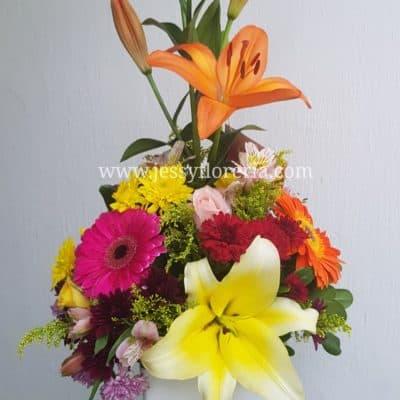 Diseño flor surtida