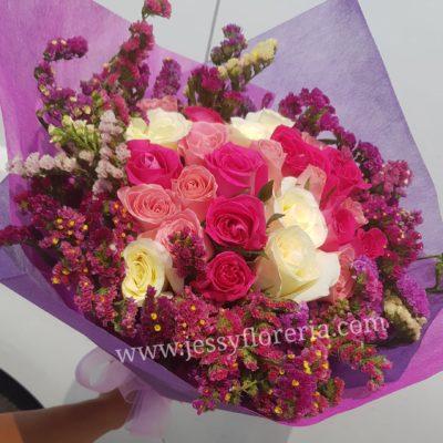 24 rosas y leticia