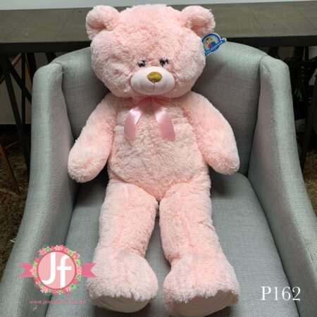 p162-Oso de peluche rosa 1m