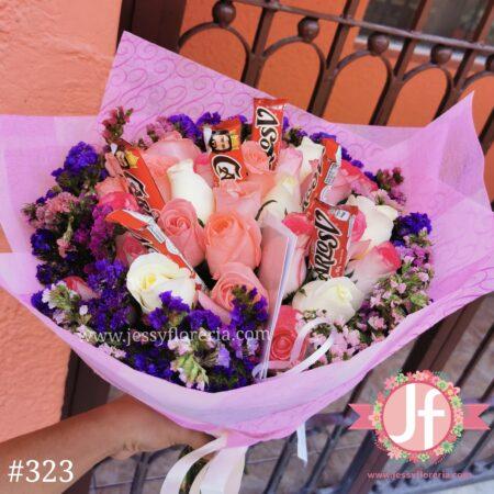 323 Bouquet 24 rosas leticia 6 Carlos V