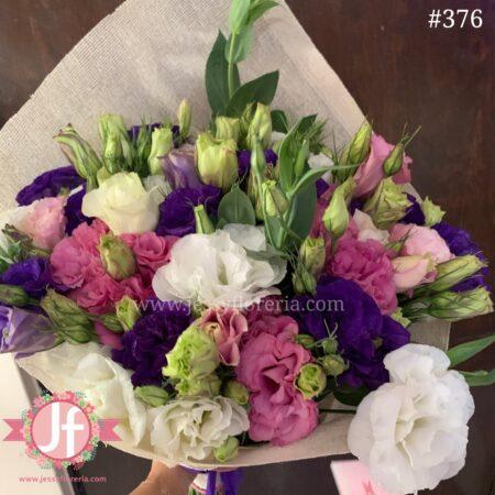 376 Bouquet lisianthus