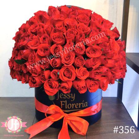 356-caja-circular-100-rosas-rojas