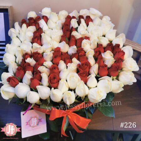 Te amo 120 rosas