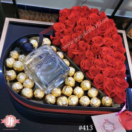 413 Corazon 50 rosas, Julio 70 y Ferreros