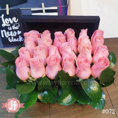 072 Cofre rosas rositas