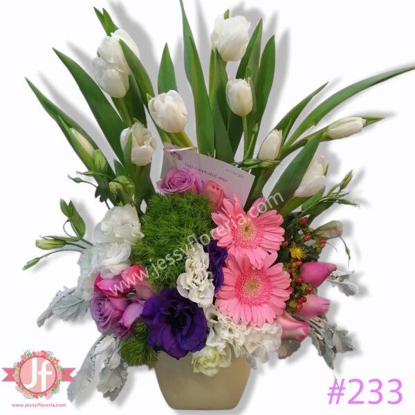 233 Tulipanes vintage